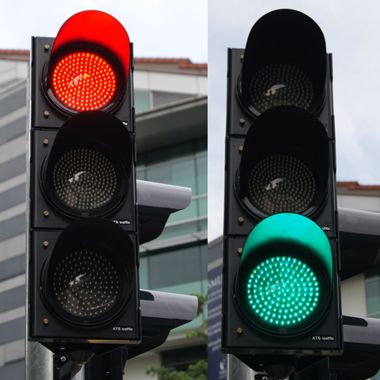 Who invented traffic signal?